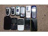 Bargain Job Lot Of 11X Working Mobile Phones Smartphone - Sale ..... Sale....Sale