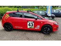 SEAT LEON 2.0 16V T FSI FR 5dr Warranted+Fresh Mot&Serviced A Very Nice Car (red) 2006
