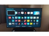 """Samsung smart wifi 39"""" Led tv with freeview HD excellent Condition"""