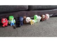Minecraft Plush soft toys - selection