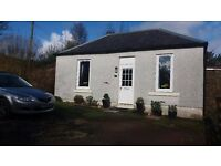 DETACHED COTTAGE SCOTLAND /WEST COAST/LOCH LOMOND/FERRIES HOLIDAY HOME/ £29,000 !!!! GUIDE