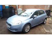 2006 Fiat Puno Dynamic 1.2, 5 speed gearbox, breaking for spares or repair.