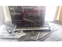 Yamaha PSR-E333 Touch-Sensitive Keyboard - with Stool and Sustain Pedal
