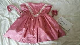 Kid girl fancy party dress clothes fashion