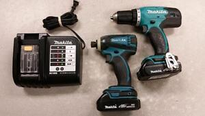 Makita 18V LXT Drill and Impact Driver Combo Set