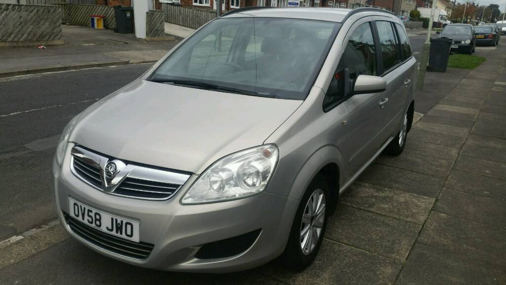 Vauxhall Zafira Exclusiv, (105), 5 Door, 1598 cc, Manual, Petrol, 7 Seater