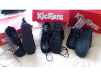 New men's kickers two demi boots l shoes all size 6 bargain at £25 each or £65 lot no offers