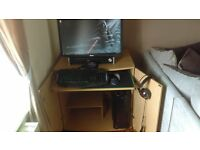 Gaming Pc with Desk and chair for sale