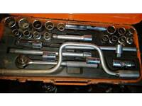 Genuine Draper Socket Set