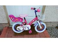 "Minnie Mouse 12"" Girls Bike"