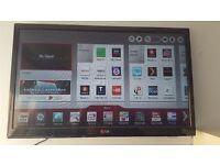 24 inch LG LCD smart tv