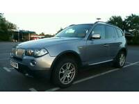 BMW X3 3.0 30d SE 5dr Manual Full BMW Service history full leather Recent Service 3 MONTHS WARRANTY