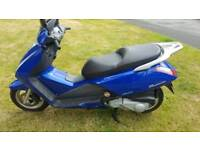 Honda pantheon 125 only 4k miles full MOT £1300