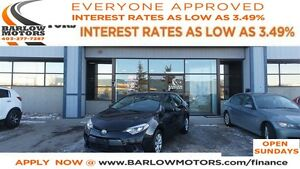 2015 Toyota Corolla CE *EVERYONE APPROVED* APPLY NOW DRIVE NOW