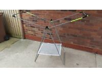 Minky Xtra Wing Indoor Airer, 24m drying space, Silver