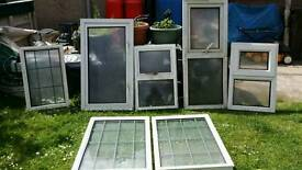 7 double glazed windows. £10 EACH OR £50 the lot