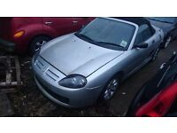 2004 MG TF SILVER Runs 'n' Drives Spares or Repairs in Wellinborough