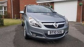 Vauxhall Corsa 1.2 SXI [A/C] 5 Door Silver [2010/10] LOW MILEAGE 36K