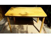Pine Kitchen Table (120cmsx75cms)
