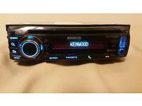 CAR HEAD UNIT KENWOOD MP3 PLAYER WITH BLUETOOTH USB AUX RCA OUT 4 X 52 AMPLIFIER AMP STEREO RADIO BT