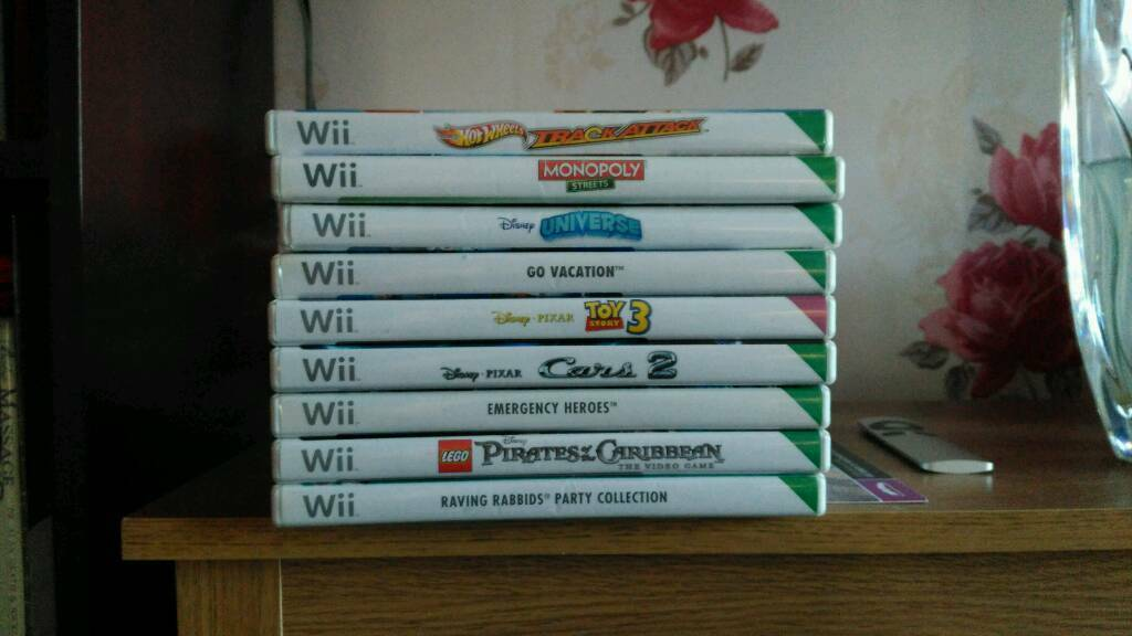 6 Wii games