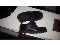 Boys Kickers black size 12 been worn once no box great condition!