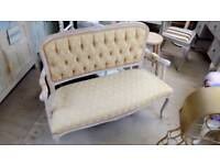 French style 2 seater settee