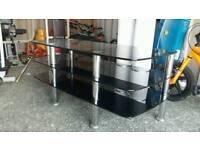 Tv unit hard glass