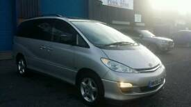TOYOTA PREVIA 06 REG DISABLED ACCESS 2.0 DIESEL MANUAL TOP OF THE RANGE