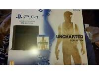 PS4 1TB Console Uncharted collectors + extra controller and docking station