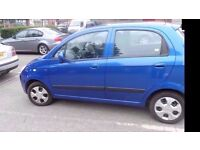 chevrolet matiz se+ long mot and new parts fitted ready to go