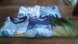 Boys Bundle of T-Shirts age 10-11