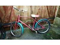 Vintage girls bike 1959