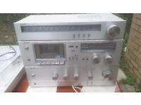 Vintage.... Sharp Amp & Tape Deck