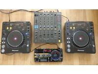 DJ Set - Pioneer CDJ1000 Mk3 (Pair), Pioneer DJM 800 + Pioneer RMX1000 Immaculate condition.