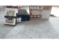 Gelish gel nail uv lamp and nail art kit