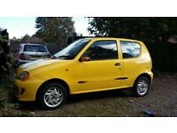 Fiat Seicento Sporting, LOW MILAGE 45K