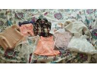 Bundle of baby girl clothes river island