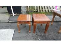 2 very nice matching tables £50 for both!