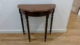 Hall side table