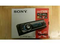 Sony car stereo CDXGT929U