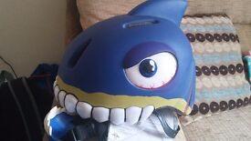 Crazy helmet
