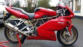 Ducati super sport 750 ff