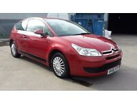 CITROEN C4 VT, 1.4, 56 REG, LOW MILES, 3 MONTHS WARRANTY