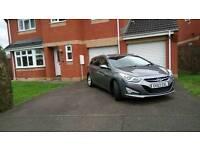 Hyundai I40 Style Tourer Estate, Titanium Grey, low Mileage