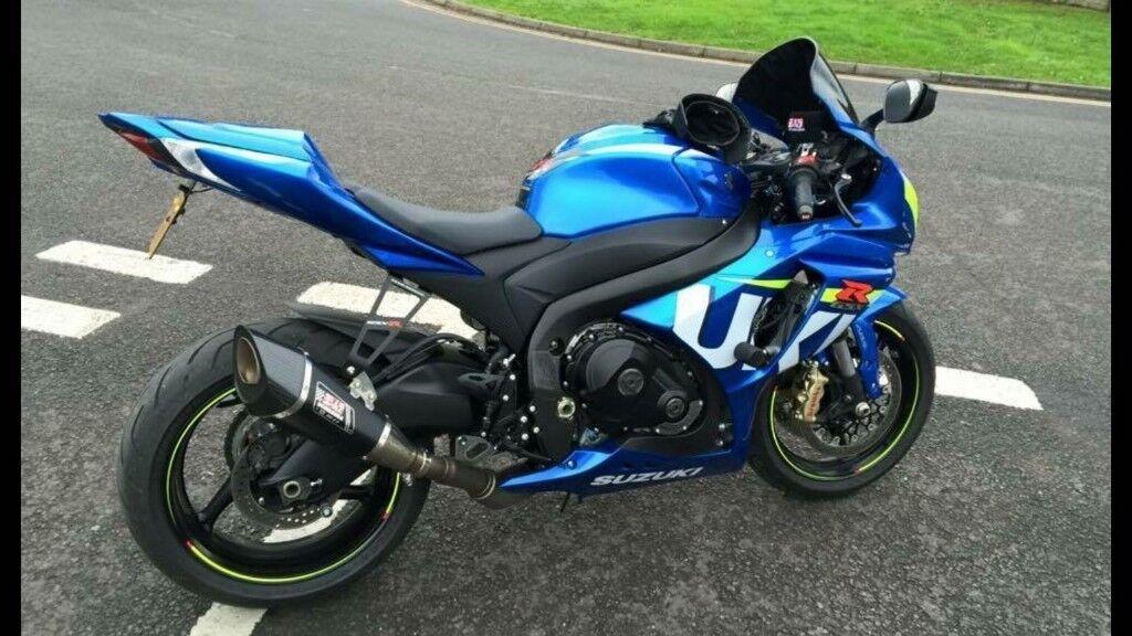 low mileage suzuki gsxr 1000 2015 plate moto gp edition lots of