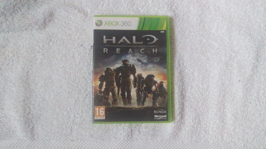 Halo Reach Xbox 360 Nottingham Game