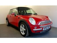 2002 | Mini Cooper 3 dr 1.6 | Manual | Petrol | Pan Rood | Chili Pack | Half Leather