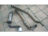 Astra VXR Remus Exhaust System (+300 cell sports cat)