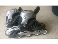 Airwalk roller blades (size 10)
